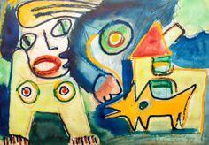Modern Art, Art Gallery, Paintings, Abstract, Children, Summary, Young Children, Art Museum, Boys