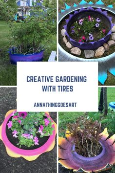 A creative way to add color and protection for your plants and perennials