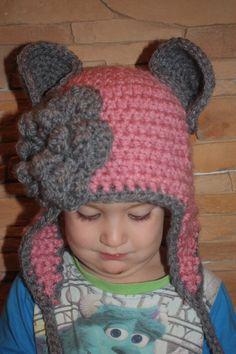 Gorro bebe niña lana ganchillo hat baby girl yarn crochet    https://www.etsy.com/es/listing/212847110/gorro-de-lana-nina