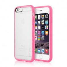 Incipio iPhone 6 Clear Octane Case Frost Pink Front Back
