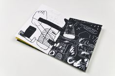 , — palefroi:   Grosse pluie  Screen printed book by...