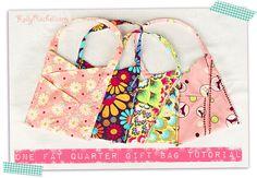 Fat Quarter Gift Bag