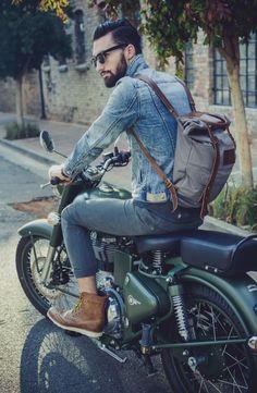 Moto con estilo