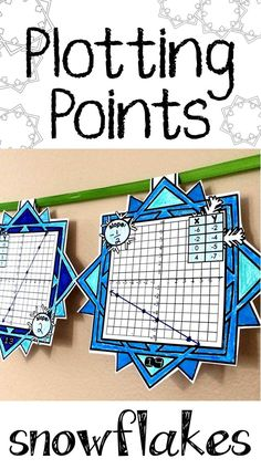 Middle school math students plot points from tables in this fun Christmas and winter math pennant activity that doubles as classroom decor. All tables represent linear functions. After plotting, students are asked to determine the slope. Algebra Activities, Math Resources, Teaching Math, Math Games, Teaching Tools, Teaching Ideas, Mandala Tattoo Design, Math Classroom, Classroom Decor