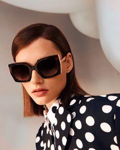 Carolina Herrera, Women's Accessories, Feminine, Seasons, Sunglasses, Color, Instagram, Dots, Silhouette
