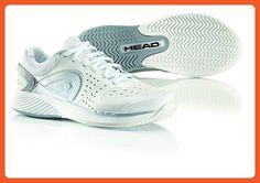 super popular 400e6 4962e Head Women s Sprint Pro Court Shoe,White Gray Silver,8.5 M US