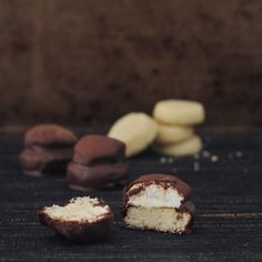 Mini Toffee Mallomars from @spabettie (or things you should not look at 3 weeks out from a competition)