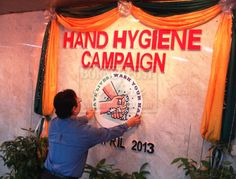 'Wash your hands to reduce #hospital acquired #infection'