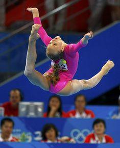 Nastia Liukin (United States) by jodfevic, via Flickr  gymnast, gymnastics