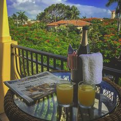 Start your morning off with a refreshing mimosa at The Inn on Fifth in downtown Naples, Florida. Photo by IG user scottaferguson