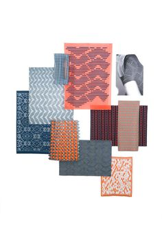 Textile Design work by Emma Sheldon