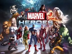 Marvel Heroes - http://gameshero.org/marvel-heroes/