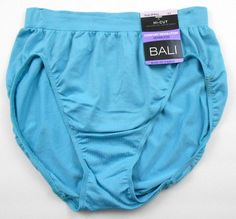 Bali Comfort Revolution hi-cut panties are an everyday basic.