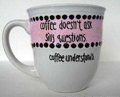 quotes on cute cofee mug