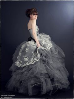 A Whimsical Fairytale Ball Gown Rhinestones and by KMKDesignsllc.  Omg I WANT this dress!