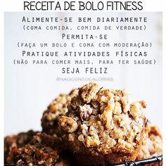 É o que a @ritalobo falou: 'dá pena quando a pessoa comenta: troquei a farinha por fécula e a manteiga por óleo de coco para deixar o bolo mais saudável'. O que deixa um bolo mais saudável não é o tipo de farinha, mas a atitude de quem come o bolo. É prestar mais atenção na maneira com comemos e dar menos bola para soluções mirabolantes (ou 'todo mundo está comendo'). Rita Lobo falou o que eu, Marinas, Alessandras, Ritas, Desires, Manoelas, Vivians, Sophies, Drauzios, Betânias, Mauros…