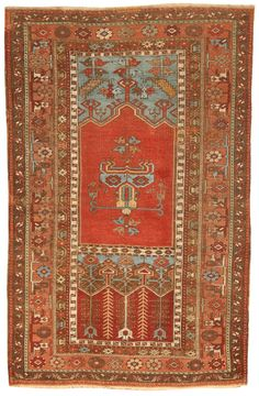 Antique Ladik Rug 4.3 X 6.0 - Fred Moheban Gallery