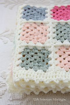 Crochet Baby Blanket by idalifestyle on Etsy