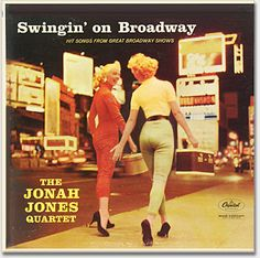 Record collecting, album covers: The Jonah Jones Quartet, Capitol T963. From 'Records, Album Covers' at the web's largest private collection of antiques & collectibles: http://www.ericwrobbel.com/collections/records-1.htm