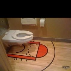 Funny pictures about Basketball court toilet. Oh, and cool pics about Basketball court toilet. Also, Basketball court toilet photos. Basketball Funny, Basketball Court, Funny Sports, Basketball Stuff, Basketball Man Cave, Indoor Basketball, Sports Humor, Basketball Sayings, Basketball Season