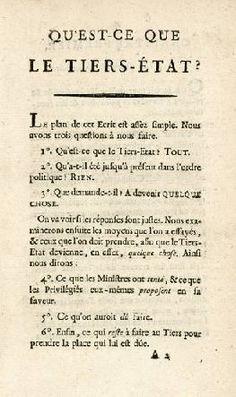documents révolutionnaires francaise
