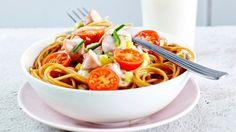 Värikäs nakkispagetti - K-ruoka