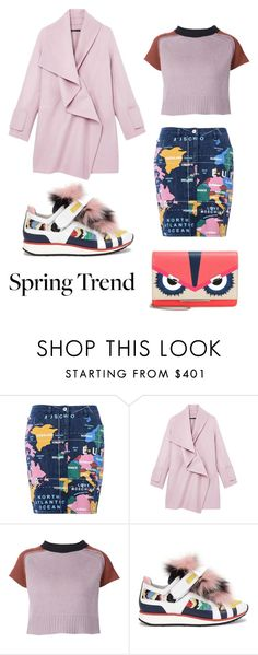 """""""Spring X Pink '16"""" by shellynrl27 on Polyvore featuring Love Moschino, Vince, Marni, Pierre Hardy and Fendi"""