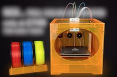 "The Strange ""Nix…"" Color 3D Printer #3DPrinting"