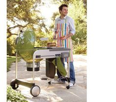 Weber Green Grill: every backyard needs one