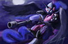 Nightmare Maker ( MLP x Overwatch) by eddywardster.deviantart.com on @DeviantArt