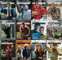American Cinematographer Magazine 2013 Full Collection