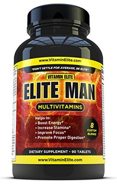 Elite Man Multivitamins for Men - All-in-one Formula Helps Boost Energy, Enhance Focus & Stamina - 90 Tablets  http://www.amazon.com/dp/B00CHYHJCY/ref=cm_sw_r_pi_dp_KaJwwb17MY1ZZ