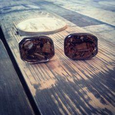 Bourbon Barrel Cuff Links  #bourbon #bourbonbarrel #bourboncufflinks #buylocal #remadeinkentucky Products & Pricing - Bourbon Barrel Rehab Bourbon Barrel, Cufflinks, Glasses, How To Make, Products, Eyewear, Eyeglasses, Wedding Cufflinks, Eye Glasses