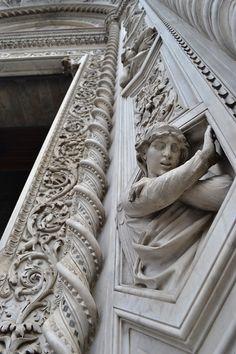 architectural detail. relief sculpture.
