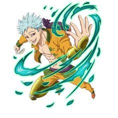 Ban el zorro de la Avaricia Anime Seven Deadly Sins, 7 Deadly Sins, Me Me Me Anime, Anime Guys, Ban Anime, 7 Sins, Seven Deady Sins, Sketch 2, Japanese Cartoon