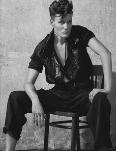 Casey Legler for Numéro Homme S/S 2013