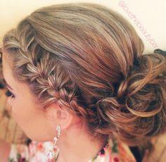 Bridesmaid or Prom hair