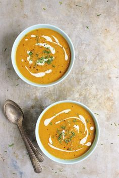 Golden Beet Soup with Roasted Garlic Cashew Cream | With Food + Love | #glutenfree #vegan #paleo