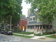 Ohio City - Restored Houses