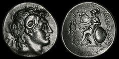 Lysimachos Silver Tetradrachm, Coins, Greek Greek Hellenistic Macedonian…