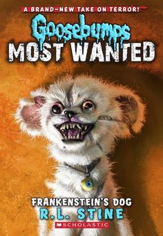 Poochie isn't the type of dog you would want to cuddle with. Keywords: Goosebumps, Frankenstein's Dog, book