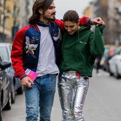 Giotto Calendoli and Patricia Manfield, Milan