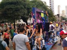 Bloco do Pedal promove Carnaval sustentável na Vila Mariana
