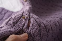 Seaming And Blocking Tips