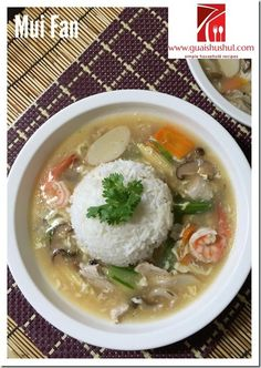 """INTRODUCTION This is a very easy and healthy one pot dish.. It is also a lazy dish and in fact, in Chinese records, it was also meant for a dish of """"lazy people"""". Well, I am not saying those who are trying the recipes are lazy people, but it is a better time management type …"""