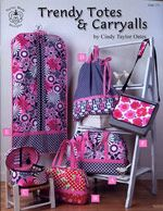 Trendy Totes & Carryalls Sewing Pattern by Carol Taylor Oates Bag Patterns To Sew, Sewing Patterns, Wallet Sewing Pattern, Emmaline Bags, Shabby Fabrics, Country Quilts, Garment Bags, Couture, Make Design