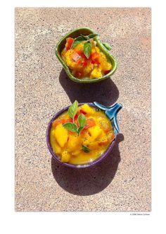 Mango Salsa nature's energy photopainting by Debra Cortese  Mango Salsa Recipe at link...