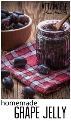 Grape jelly is a snap to make -- REALLY. And this? You can make with fresh grape juice or 100% grape juice from the s.t.o.r.e. Even in the middle of the winter!