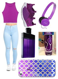 """""""Untitled #569"""" by kyrapples on Polyvore featuring Ralph Lauren, NIKE and Casetify"""