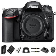 awesome Nikon D7200 Physique Solely DSLR Digicam 24.2 MP DX Format Sensor - Summer time Time Sale